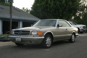 1990 Mercedes-Benz 500-Series 560SEC