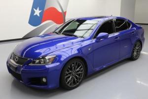 2011 Lexus IS F HTD LEATHER SUNROOF NAV REAR CAM