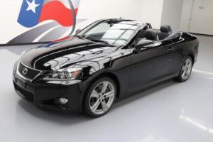 2012 Lexus IS CONVERTIBLE HARD TOP NAV REAR CAM