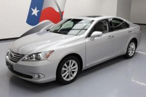 2011 Lexus ES 350 VENT LEATHER SUNROOF PARK ASSIST