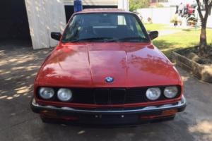 BMW 323i E30 MANUAL COUPE