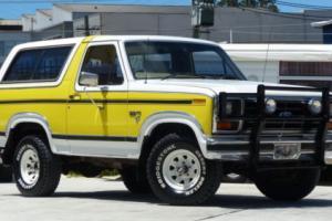 1984 Ford Bronco XLT 4X4 Wagon 351 (5.8L) V8 Auto Photo