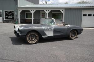 1961 Chevrolet Corvette FawnBeige/FawnBeige*#Match283/230hp*3spd*NoHitBody