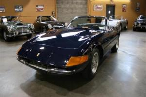 1969 Ferrari 365 GTB/4 Daytona Spyder -- for Sale