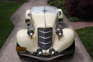 1935 Replica/Kit Makes Auburn Boattail Speedster 851