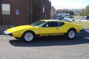 1974 De Tomaso Pantera --