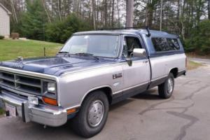 1989 Dodge Other Pickups LE Photo