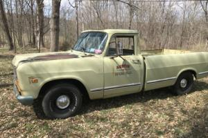 1974 International Harvester 1/2 TON PICKUP TRUCK 1/2 TON PICKUP RAT HOT ROD CUSTOM