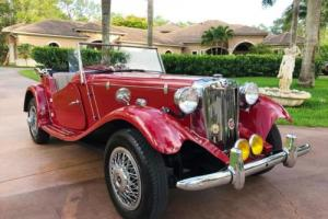 1952 MG T-Series MG-TD Photo