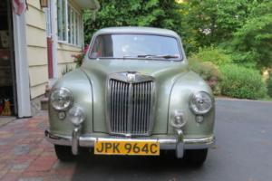 1959 MG ZB Sedan