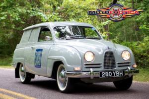 "1962 Saab Other 95 ""Bullnose"" Panel Van"