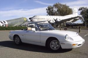 1991 Alfa Romeo Spider Photo
