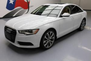 2013 Audi A6 2.0T PREM PLUS TURBO SUNROOF NAV 20'S