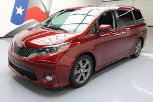 2015 Toyota Sienna SE HTD LEATHER 8-PASS REAR CAM