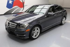 2013 Mercedes-Benz C-Class C250 SPORT SEDAN P1 SUNROOF NAV