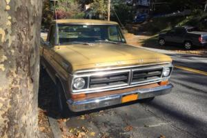 1972 Ford F-100 LONG BED