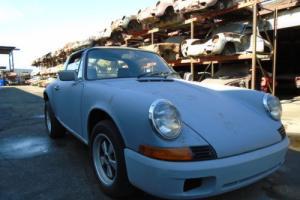 1972 Porsche 911 1972 Porsche 911 S Targa Project Car for Restorati