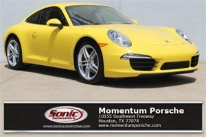 2013 Porsche 911 2dr Cpe Carrera Photo