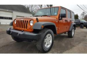 2011 Jeep Wrangler Unlimited Sport Photo