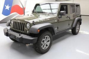 2015 Jeep Wrangler UNLTD RUBICON 4X4 6-SPD HARD TOP NAV
