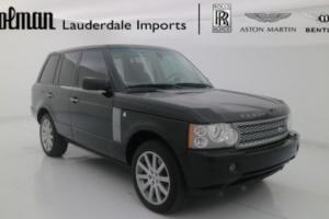 2008 Land Rover Range Rover Supercharged Sport Utility