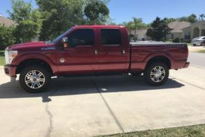 2015 Ford F-250 Platinum
