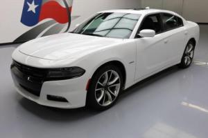 2015 Dodge Charger R/T HEMI SUNROOF NAV LEATHER