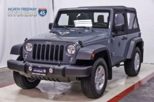 2014 Jeep Wrangler Sport 4x4 Soft-top Warranty
