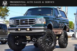 "1996 Ford Bronco 105"" WB Eddie Bauer"
