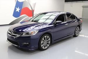 2015 Honda Accord SPORT SEDAN LEATHER REAR CAM