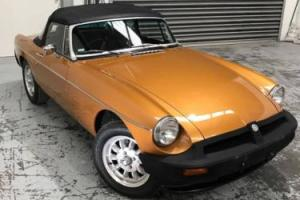 1976 MG MGB Anniversary Model Classic English Car