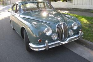 JAGUAR MARK 2  3.8 MANUAL O/D - SHERWOOD GREEN for Sale