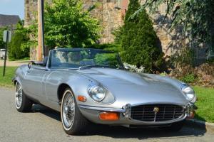 Jaguar e type 1974 V12 roadster, 1 owner car, both tops, excellent driver