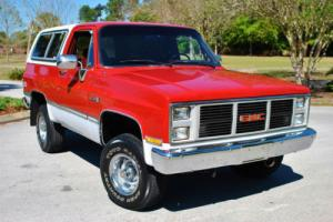 1988 GMC Jimmy 4x4 Fuel Injected 5.7L Low Miles! Clean CarFax!