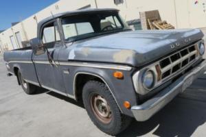 1969 Dodge Other Pickups D200 CAMPER SPECIAL CUSTOM 318 V8! Photo