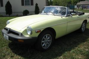 1977 MG MGB B16 Photo