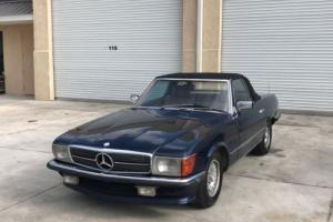 1982 Mercedes-Benz SL-Class 500SL Photo