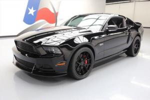 2013 Ford Mustang GT PREM 5.0 TRACK PKG 6SPD RECARO NAV