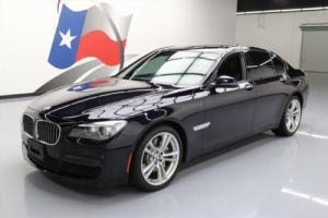 2013 BMW 7-Series 750I M SPORT EXECUTIVE SUNROOF NAV HUD