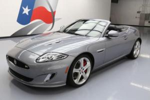 2015 Jaguar XK R CONVERTIBLE SUPERCHARGED NAV 20'S