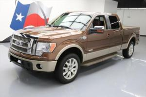2012 Ford F-150 KING RANCH CREW 4X4 ECOBOOST 20'S
