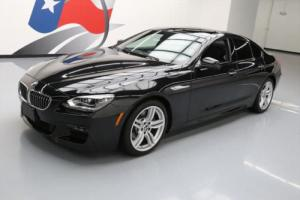 2014 BMW 6-Series 640I GRAN COUPE M-SPORT SUNROOF NAV HUD