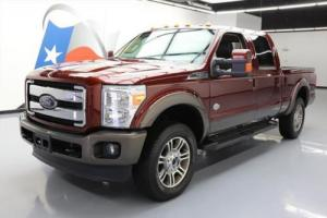 2016 Ford F-250 KING RANCH CREW 4X4 SUNROOF NAV 20'S