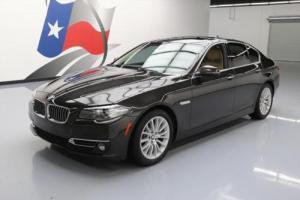 2014 BMW 5-Series 528I PREMIUM SUNROOF HTD LEATHER NAV