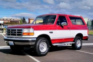 1993 Ford Bronco Ford Bronco XLT 4x4 WORLDWIDE AUCTION