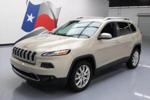 2014 Jeep Cherokee LTD HTD LEATHER NAV REAR CAM