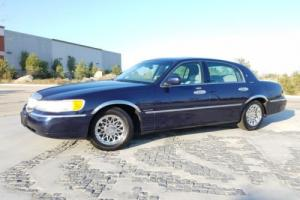 2001 Lincoln Town Car Signature Series