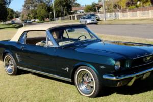 1966 FORD MUSTANG CONVERTIBLE 289 V8 AUTOMATIC Photo