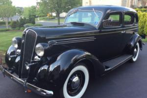 1936 Plymouth P2 Deluxe Touring Sedan Photo
