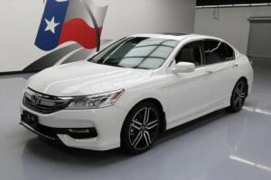2016 Honda Accord TOURING HTD LEATHER SUNROOF NAV